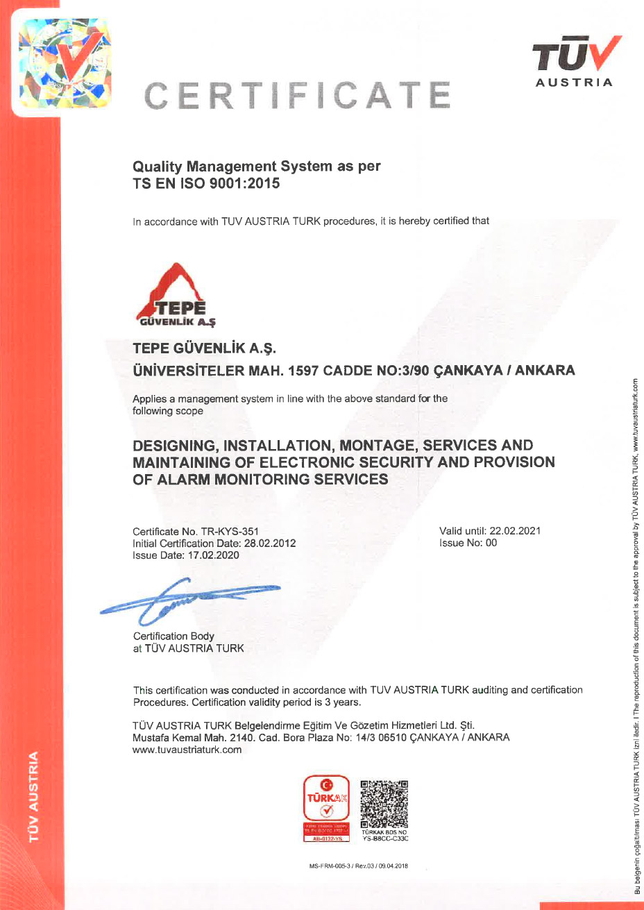 ISO 9001 - 2019 TR