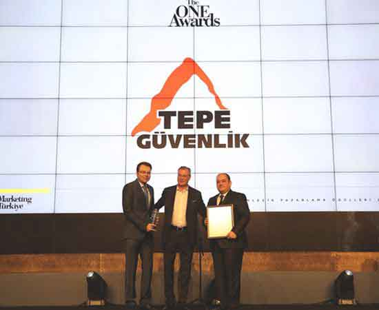 Tepe Güvenlik'e The One Awards'tan ödül