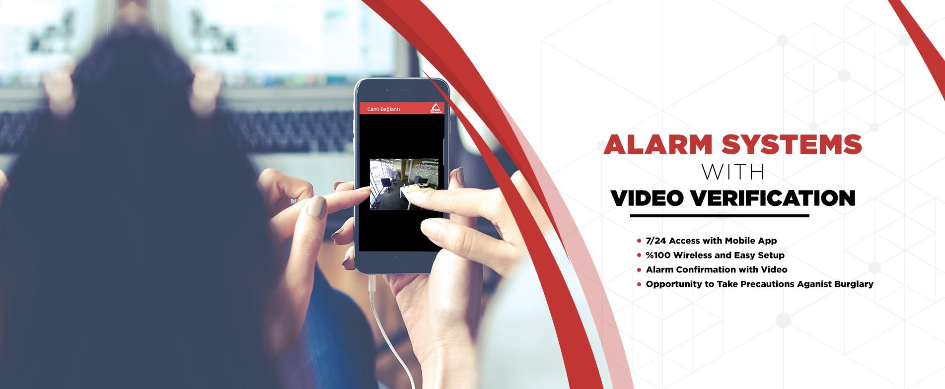 Alarm System With Video Verification